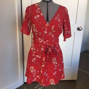 Bbdakota wrap dress